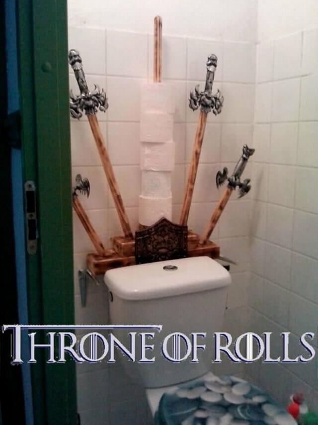 26 Suportes para papel higiênico engraçados para ter no seu banheiro