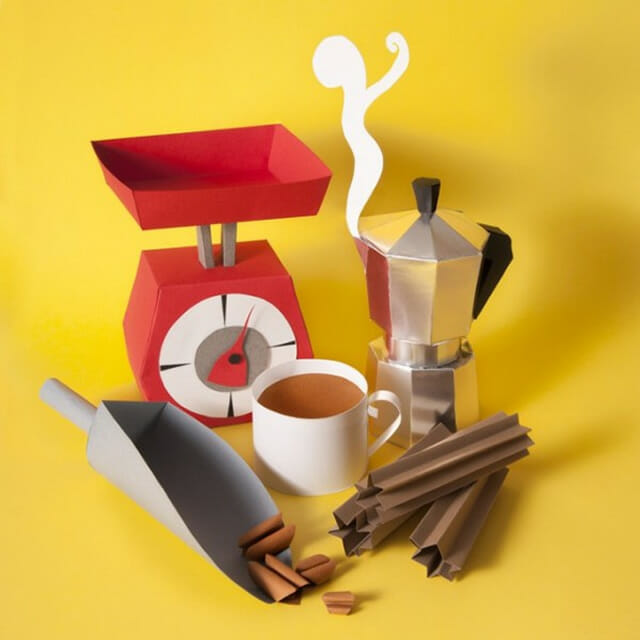 12 Alimentos feitos em papercraft que vão te deixar com água da boca