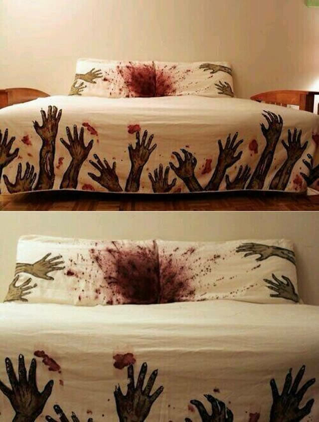 Zombie Bed Sheets Uk