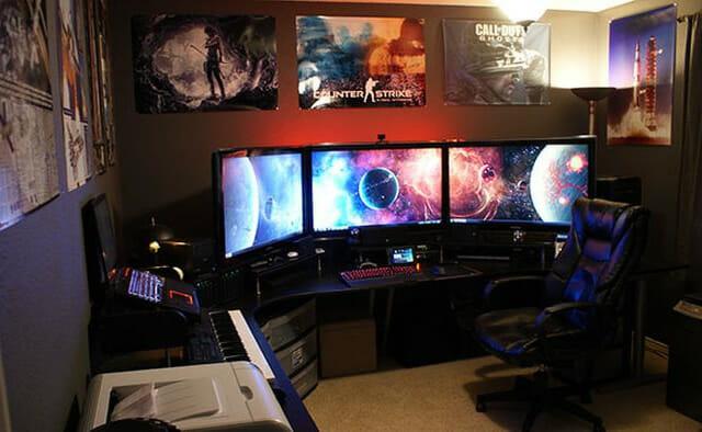 Как сделать геймерскую комнату