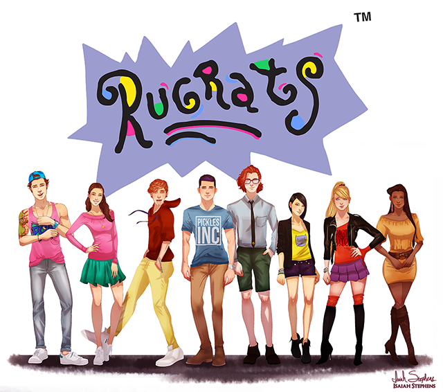 Eles cresceram! Mais personagens de desenhos animados reimaginados como adultos
