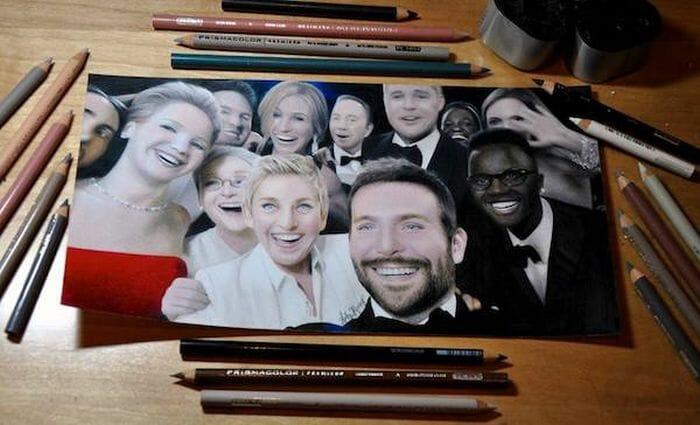 23 Retratos que parecem fotos mas são desenhos incrivelmente realistas feitos a lápis
