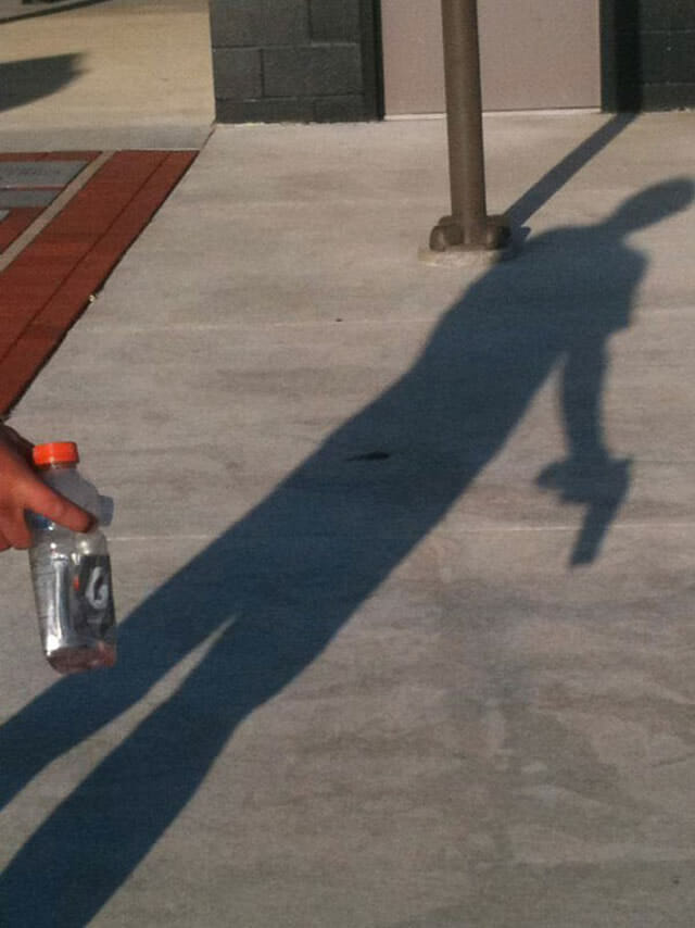 21 Fotos de sombras que parecem uma coisa e são outra coisa