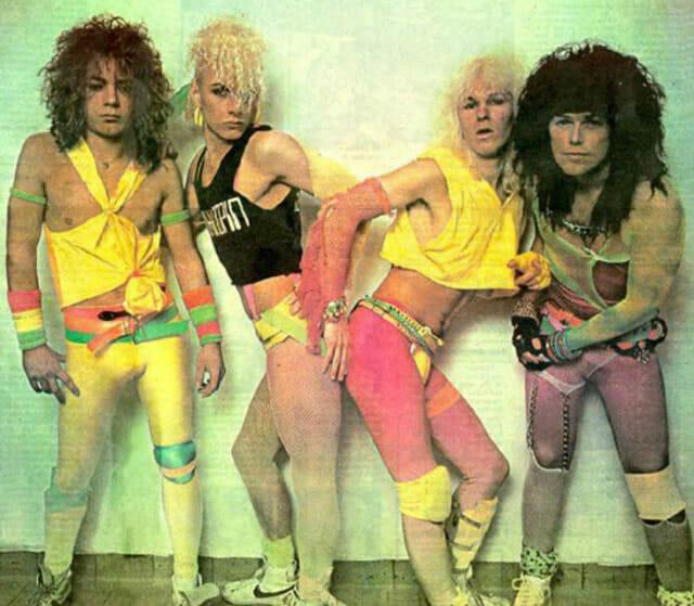 21 Fotos engraçadas pra você lembrar de como a moda era bizarra nos anos 80