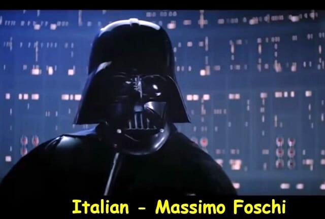 """Aprenda com o Professor Darth Vader: Como dizer """"I am your Father"""" em vários idiomas diferentes!"""