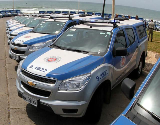 Carro Polícia Militar Bahia
