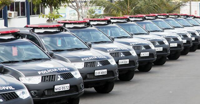 Carro Polícia Civil Maranhão