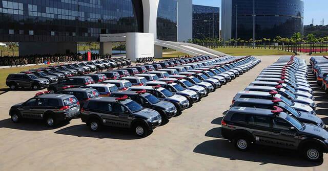Carro Polícia Militar Minas Gerais