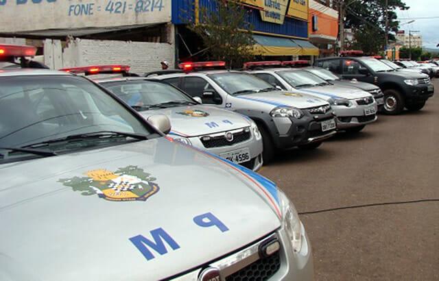 Carro Polícia Militar Mato Grosso