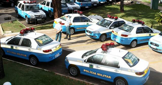 Carro Polícia Militar Mato Grosso do Sul