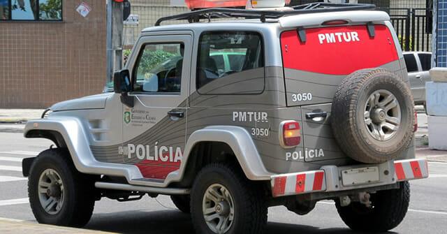Carro Polícia Militar Ceará