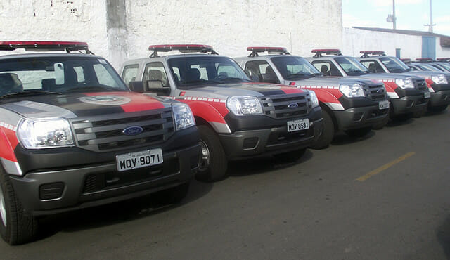 Carro Polícia Militar Paraíba