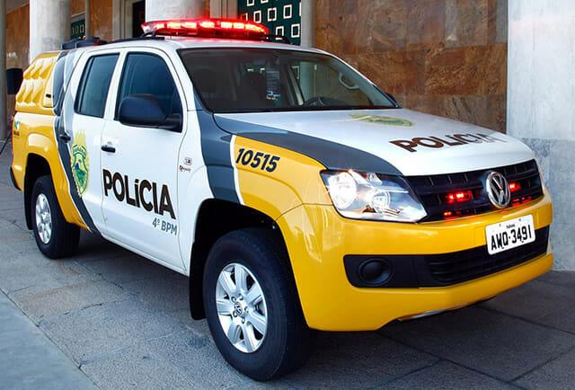 Carro Polícia MilitarParaná