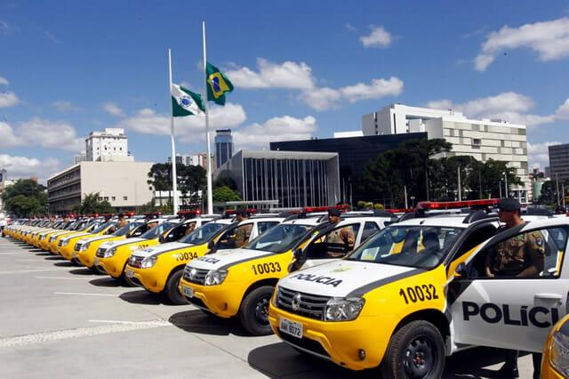 Carro Polícia Militar Paraná