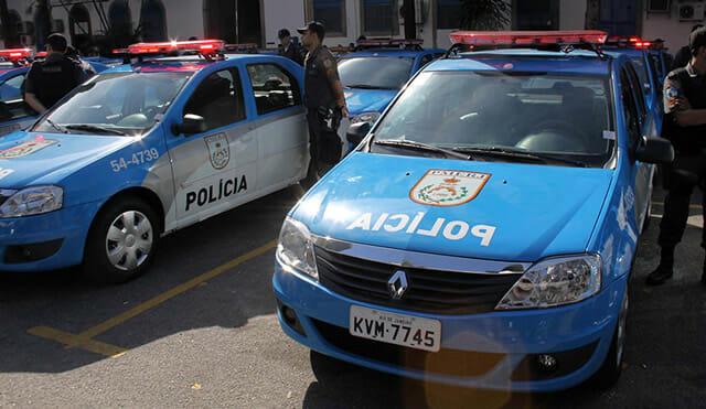 Carro Polícia Militar Rio de Janeiro