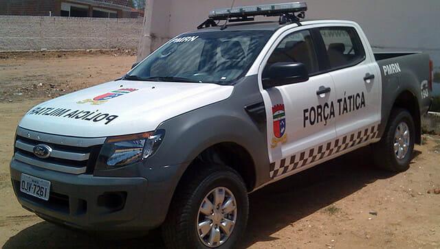 Carro Polícia Militar Rio grande do Norte