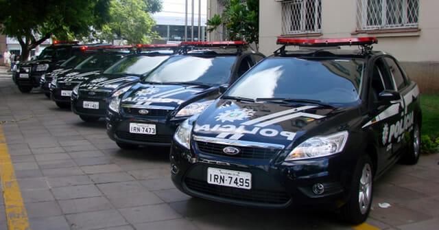 Carro Polícia Militar Rio Grande do Sul