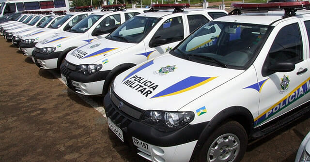 Carro Polícia Militar Rondônia