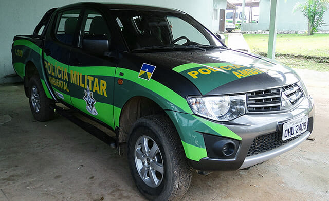 Carro Polícia Ambiental Rondônia
