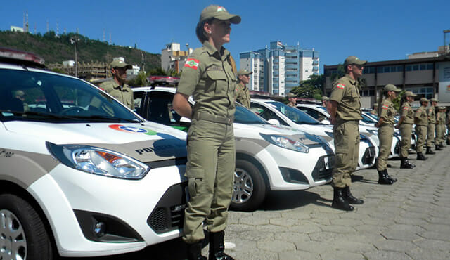 Carro Polícia Militar Santa Catarina