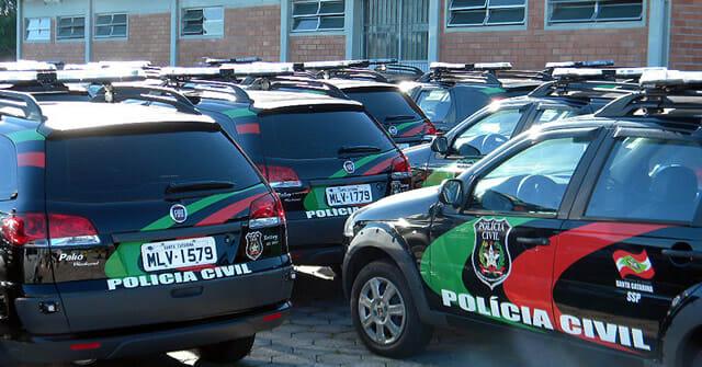 Carro Polícia Civil Santa Catarina