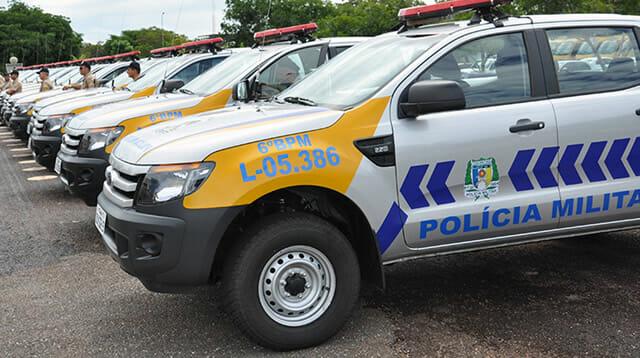 Carro Polícia Militar Tocantins