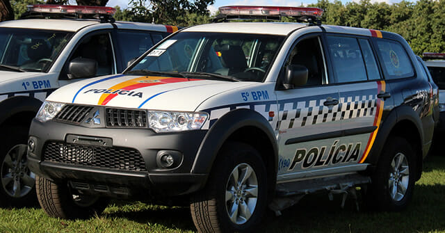 Carro Polícia Militar Distrito Federal