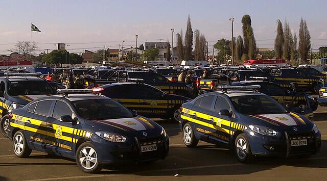 Carro Polícia Rodoviária Federal