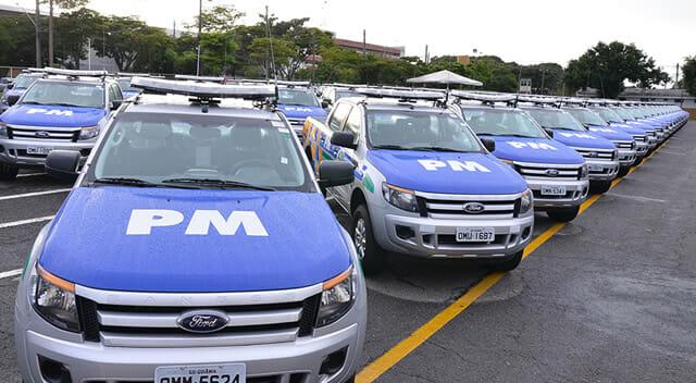 Carro Polícia Militar Goiás