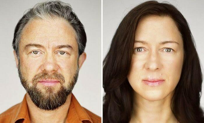 20 Fotos revelam as diferenças sutis entre gêmeos idênticos