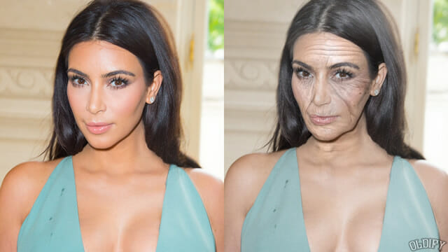 Antes e depois simula como ficariam 13 celebridades quando envelhecessem