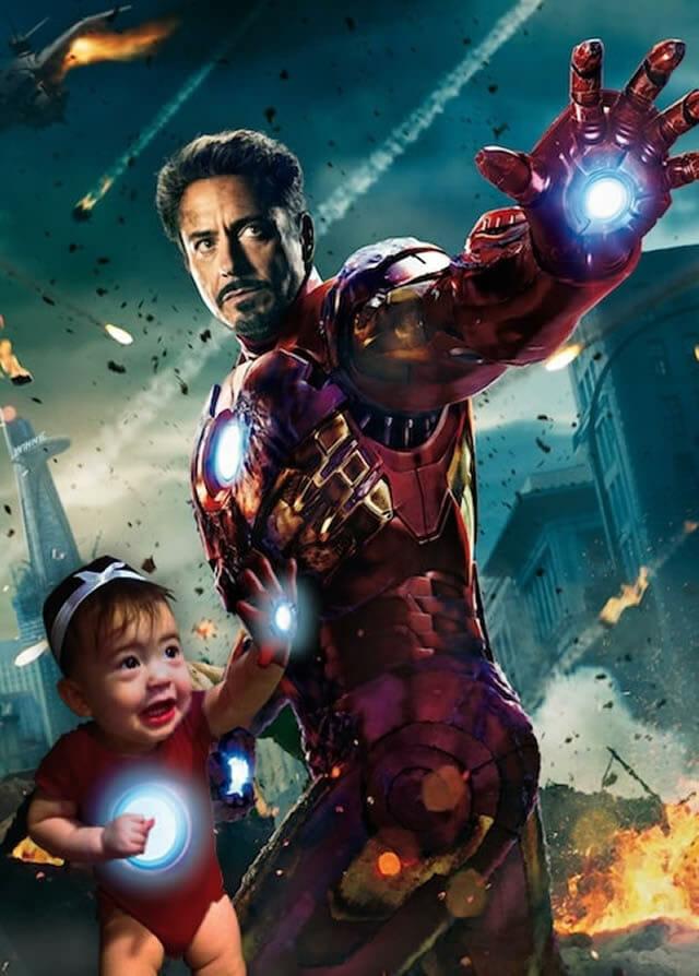 Pai transforma foto de sua filha no Photoshop e faz dela protagonista em filmes famosos