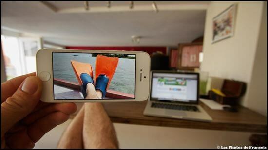 Fotógrafo combina as fotos de seu iPhone com os cenários perfeitos (27 Fotos)