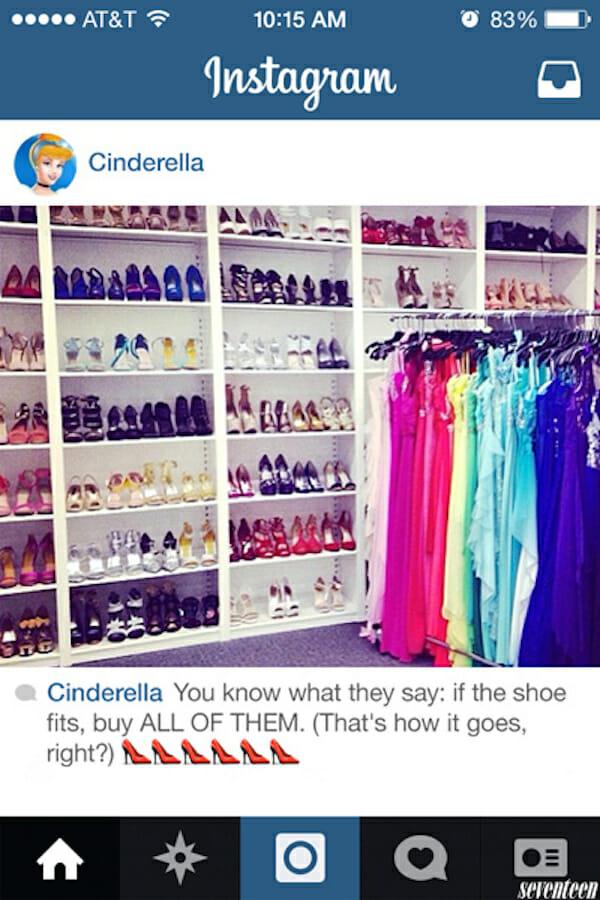 E se as princesas da Disney tivessem Instagram? - Parte II