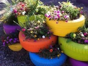 18 Ideias legais para reaproveitar pneus reciclados