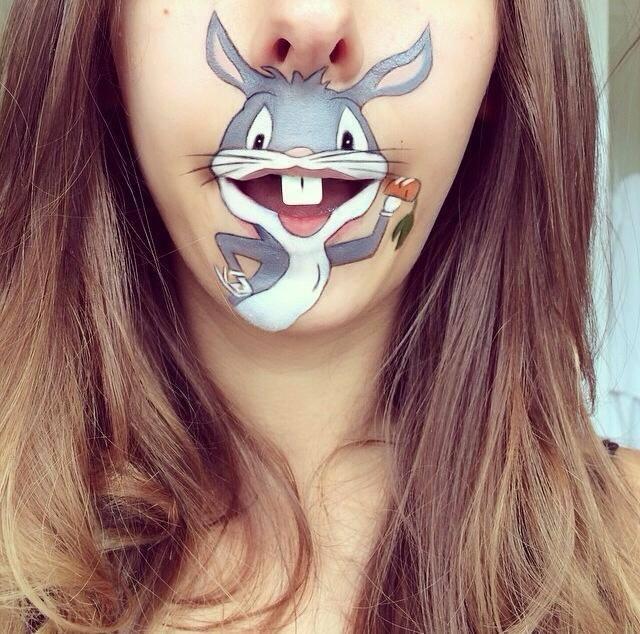 Artista transforma sua boca em personagens famosos com desenhos superlegais (21 fotos)