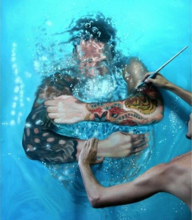 Você vai jurar que essas pinturas são pessoas reais (14 Imagens)