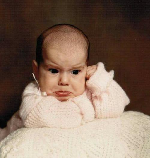 As 24 piores fotos de bebês de todos os tempos