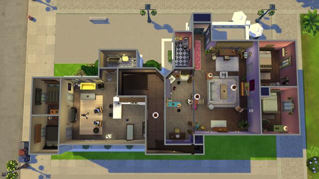 Recriaram Friends no The Sims 4. Veja as imagens!