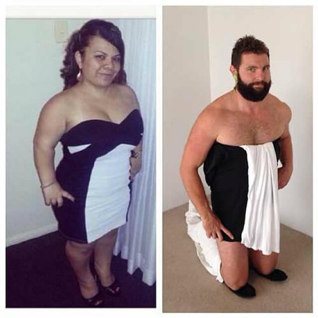 Homem recria fotos de perfil do Tinder de mulheres com imagens super engraçadas (18 Fotos)