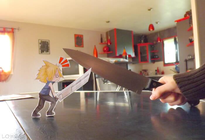 Série de imagens superlegal com personagens de papel interagindo na vida real (20 Fotos)