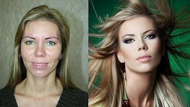 O poder da maquiagem: 25 Transformações drásticas de pessoas sem Photoshop