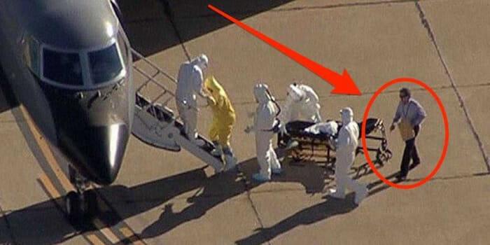 Todos tentam descobrir quem é o homem misterioso que teve contato com a paciente com Ebola nos EUA