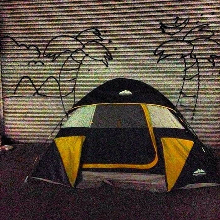 """Street art criativo do dia: Artista cria """"sonhos"""" para moradores de rua (30 Imagens)"""