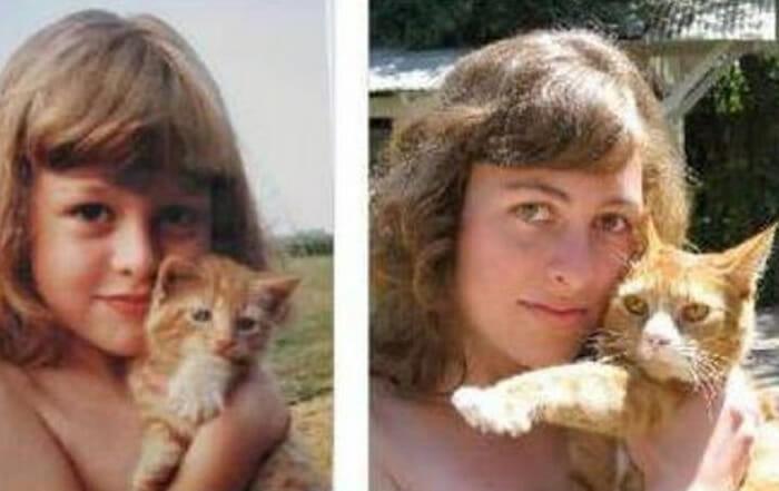 Antes e depois: 25 Fotos antigas recriadas anos mais tarde