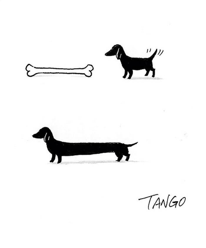 10 Desenhos inteligentes de Shanghai Tango que se convertem em outros desenhos