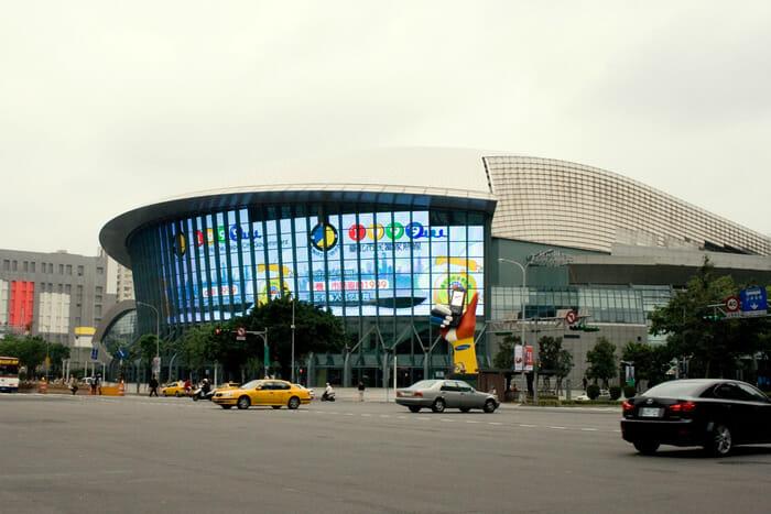 Taipei Arena Sky display screen