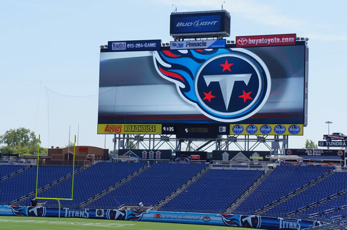 LP Field display screen