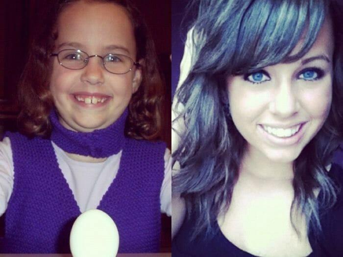 """16 Garotas que eram """"patinhos feios"""" e ficaram lindas quando cresceram"""