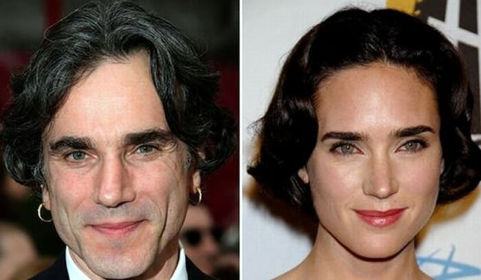 Daniel Day-Lewis e Jennifer Connelly